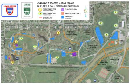 Faurot Park Map