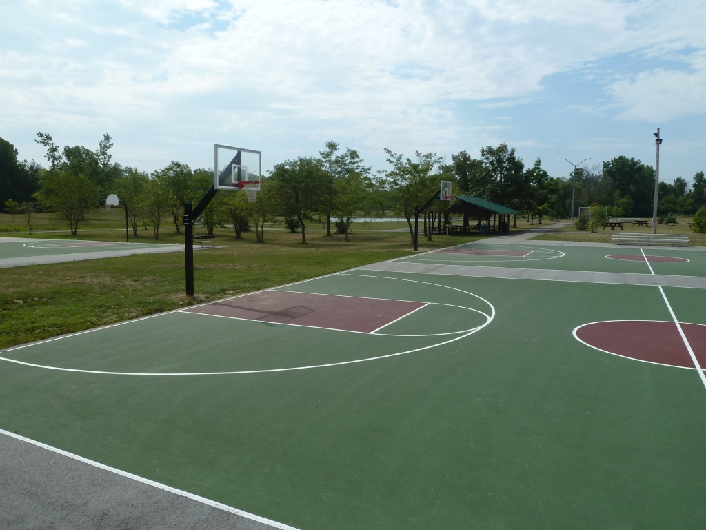 Basketball Court at Park