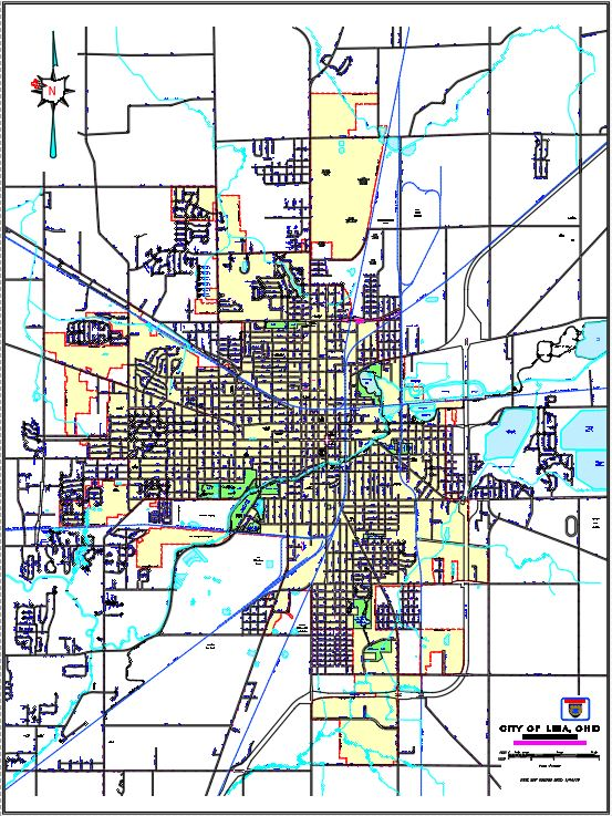 View City Maps Lima Oh Official Website